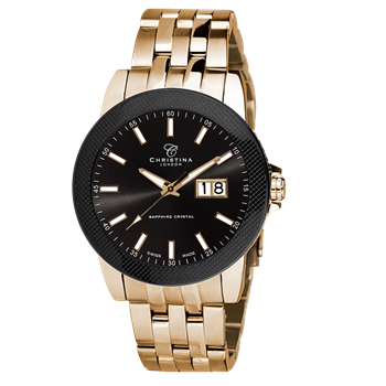 Christina Collection model 519GBL-CARBON buy it at your Watch and Jewelery shop