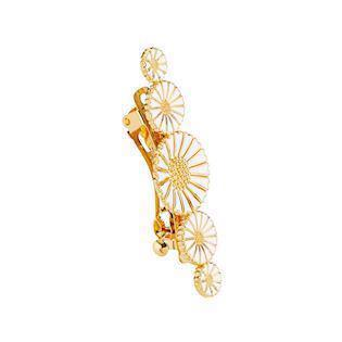 Lund Copenhagen gold-plated hair clip, model 900019-M