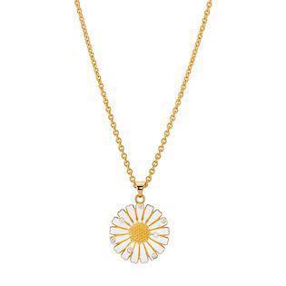 Lund Copenhagen gold-plated necklace, model 9025001-30-M