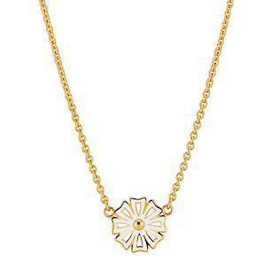 Lund Copenhagen Kontur 24 carat gold-plated necklace, model 9025004-M