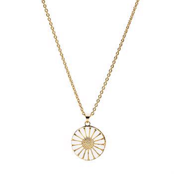 Lund Copenhagen 24 carat gold-plated medallion with 48 cm chain, model 9025022-M