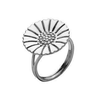 Lund Copenhagen ring in black rhodium sterling silver, model 907018-H-RH