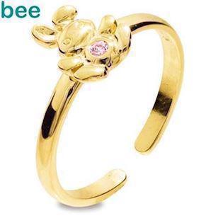 Bee Jewelry Ring, model 25292-CZP-K