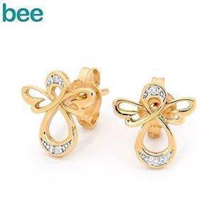 Bee Jewelry Angel Earring, model 55594