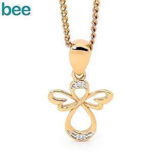Bee Jewelry Angel Pendant, model 65593