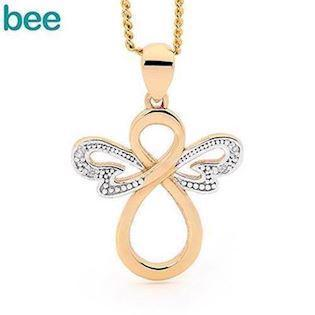 Bee Jewelry Angel Pendant, model 65599