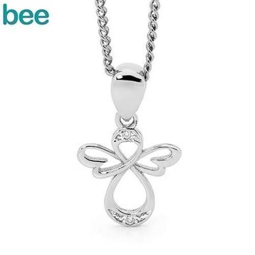 Bee Jewelry Angel Pendant, model W65593