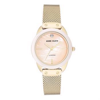 Anne Klein model AK-3258LPGB buy it at your Watch and Jewelery shop