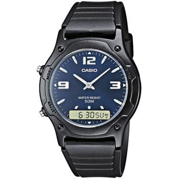 Casio model AW-49HE-2AVEG buy it at your Watch and Jewelery shop