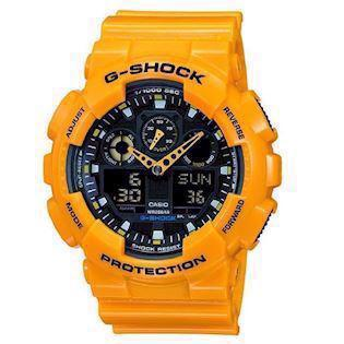 Casio model GA-100A-9AER buy it at your Watch and Jewelery shop