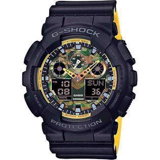 Casio model GA-100BY-1AER buy it at your Watch and Jewelery shop