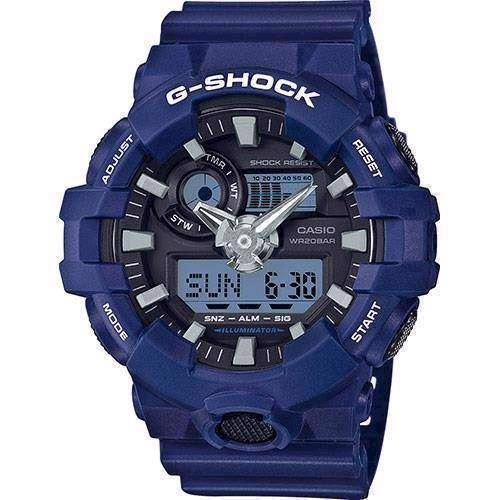 Casio model GA-700-2AER buy it at your Watch and Jewelery shop