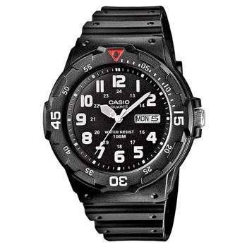 Casio model MRW-200H-1BVEG buy it at your Watch and Jewelery shop