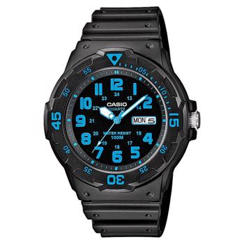 Casio model MRW-200H-2BVEG buy it at your Watch and Jewelery shop
