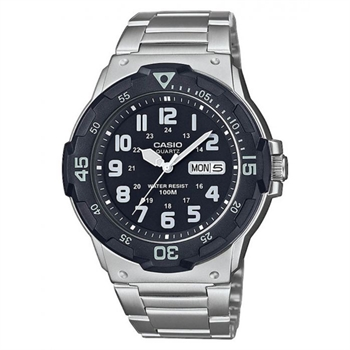 Casio model MRW-200HD-1BVEF buy it at your Watch and Jewelery shop