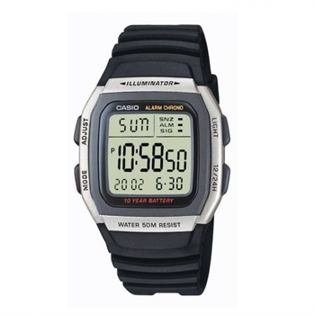 Casio model W-96H-1AVES buy it at your Watch and Jewelery shop
