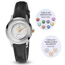 Christina Collect two colour lady watch with diamond, gemstone and daisy element