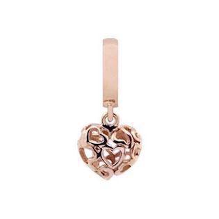 Christina Collect Heartbeat rose pendant