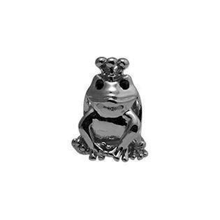 Christina Collect Topaz Frog black ring