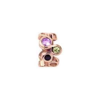 Christina Collect Multi Gemstone rose ring