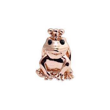 Christina Collect Topaz Frog rose ring