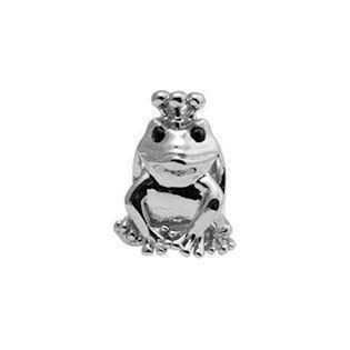 Christina Collect Topaz Frog silver ring