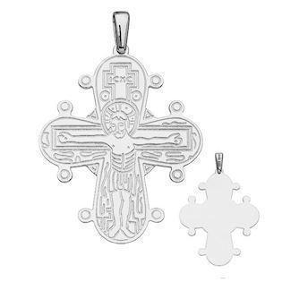 BNH Dagmar Cross RingPendant, til gravering - 15 x 13 mm