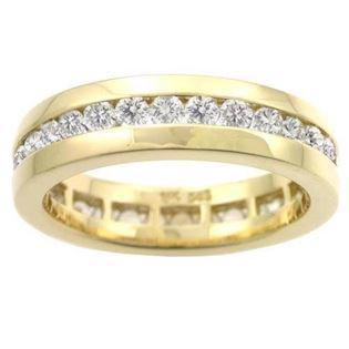 Houmann Alliance ribbon 14 carat gold Finger ring with 32 diamonds, model E013812x