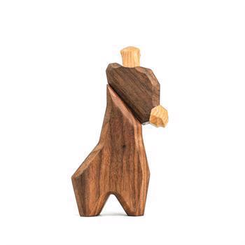 Fablewood Little giraffe - wooden figure composed of magnets