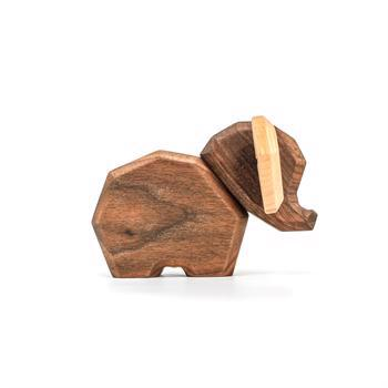 Fablewood Little Elephant - wooden figure composed of magnets