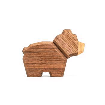 Fablewood Little bear- wooden figure composed of magnets