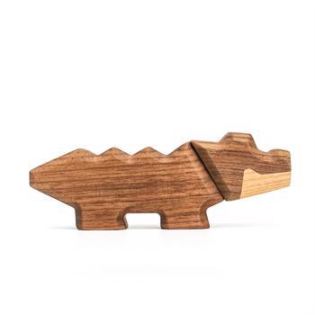 Fablewood Little Crocodile - wooden figure composed of magnets