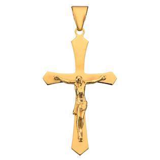 BNH Jesus cross PendantAnkel chain, Stor - 21 x 34 mm