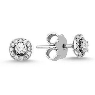 14 carat diamond earrings