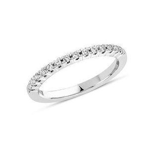 14 carat white gold ring from Coronet