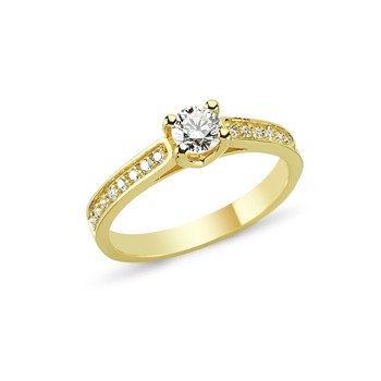 14 carat gold ringe from Nuran's Bella serie