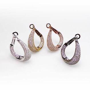 San - Link of joy Earring, model CZ-1805