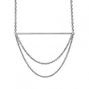 "Zöl 58316100, Silver necklace ""Swing"""