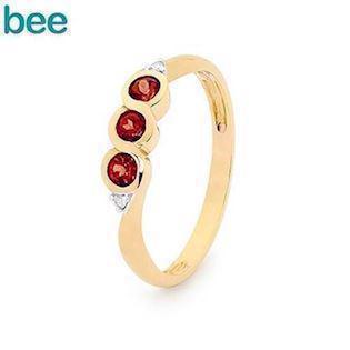 Bee Jewelry Ring, model 25325-GT