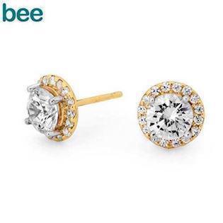 Bee Jewelry Earring, model 55557-CZ