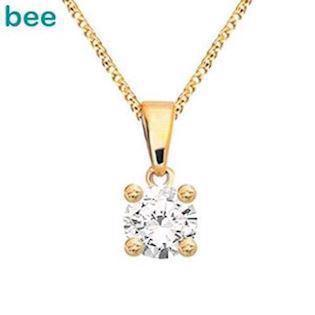 Bee Jewelry Solitaire 0,05 ct H-SI Pendant, model 60985_A05