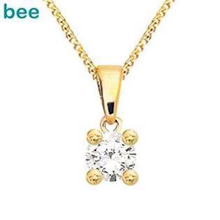 Bee Jewelry Solitaire 0,10 ct H-SI Pendant, model 60985_A10