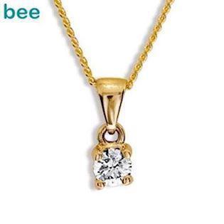 Bee Jewelry Solitaire 0,15 ct H-SI Pendant, model 60985_A15