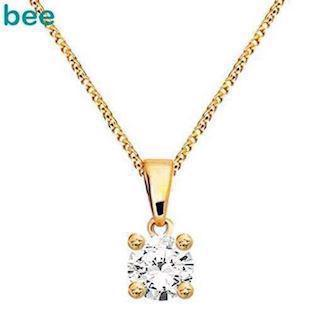 Bee Jewelry Solitaire 0,10 ct I-P1 Pendant, model 60985_B10