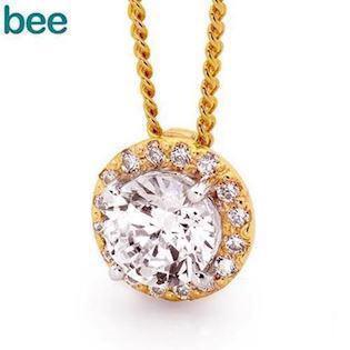Bee Jewelry Pendant, model 65527-CZ