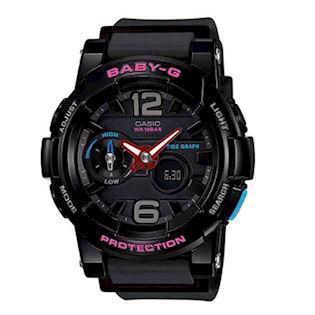 Casio model BGA-180-1BER buy it at your Watch and Jewelery shop