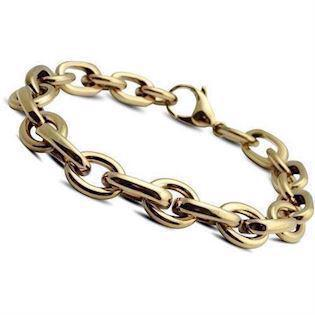 Steel chain bracelet from Christina Collect, 21 cm