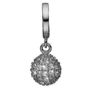 Christina Collect Black silver charm, model 610-B60