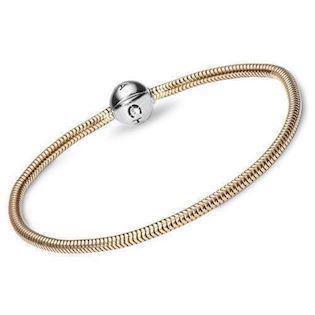 Christina Watches 9 karat gold bracelet for all the nice silver charms, 16 cm