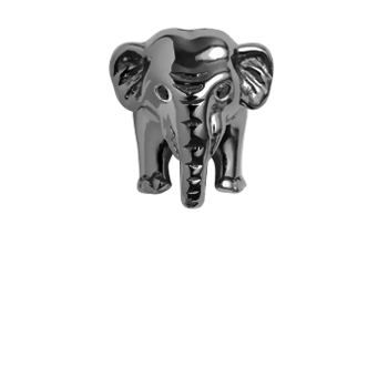 Christina Collect Elephant black ring